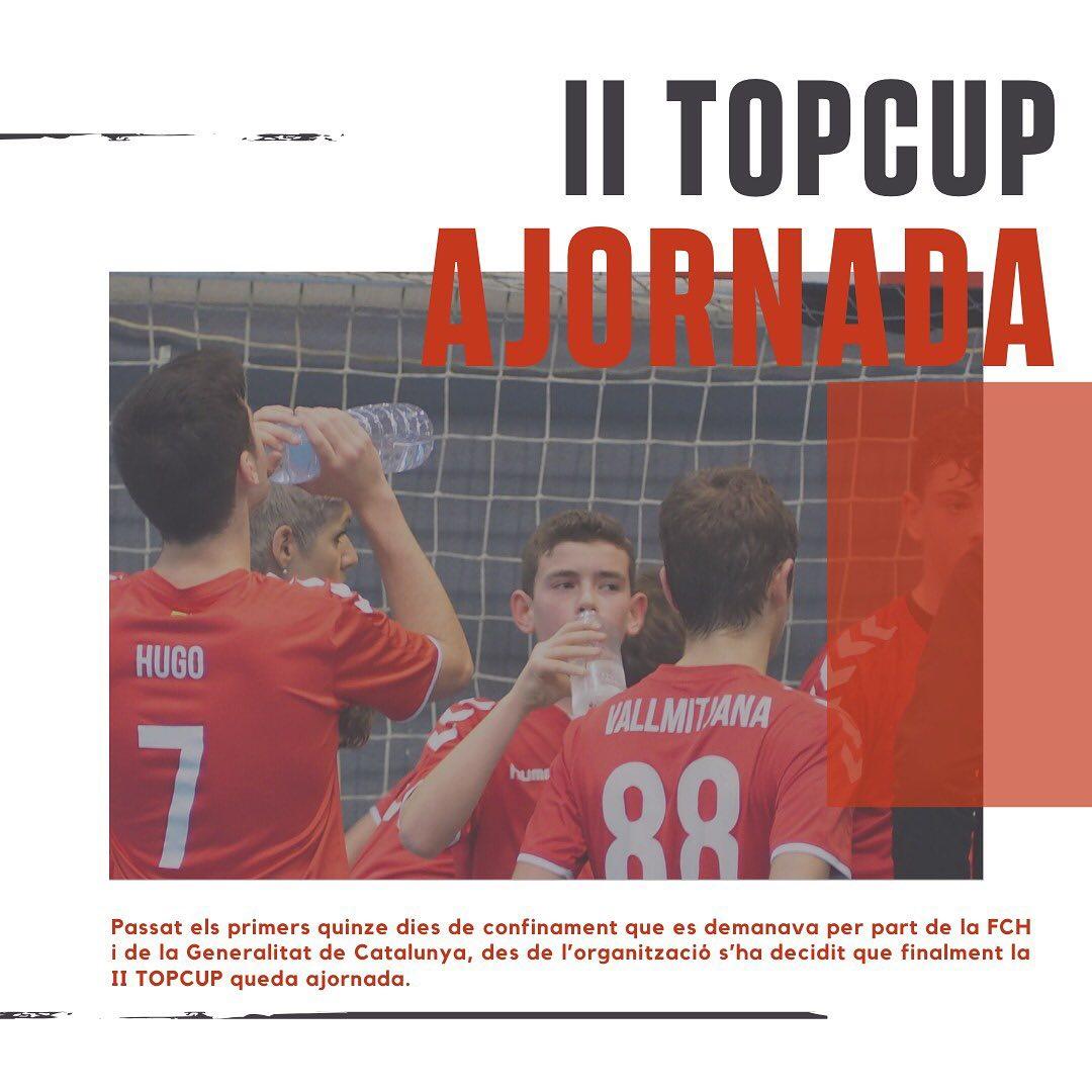 Ajornament de la segona edició del torneig TOPCUP