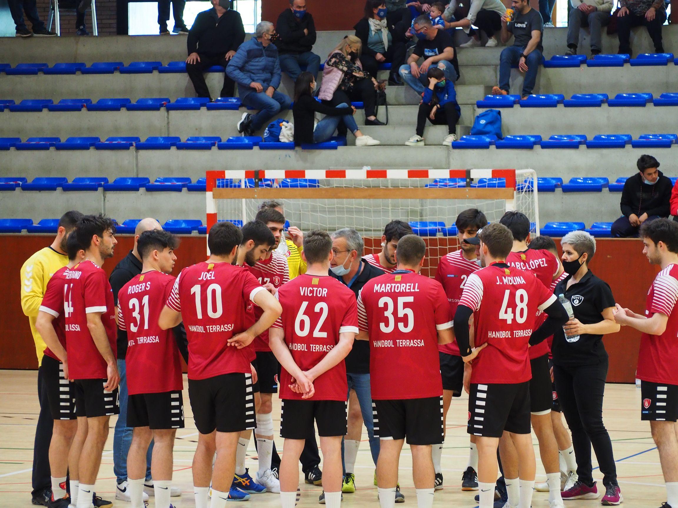 1ª Nacional Handbol banyoles VS handbol Terrassa